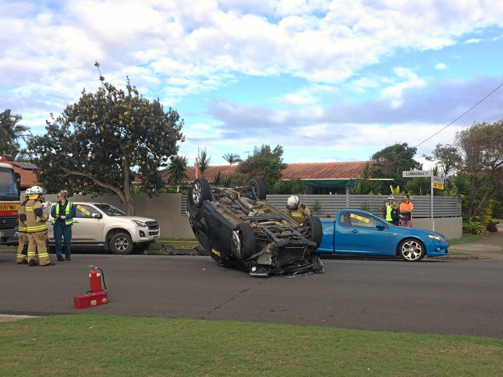 A Queensland Police Service spokesman says the driver is known to police.