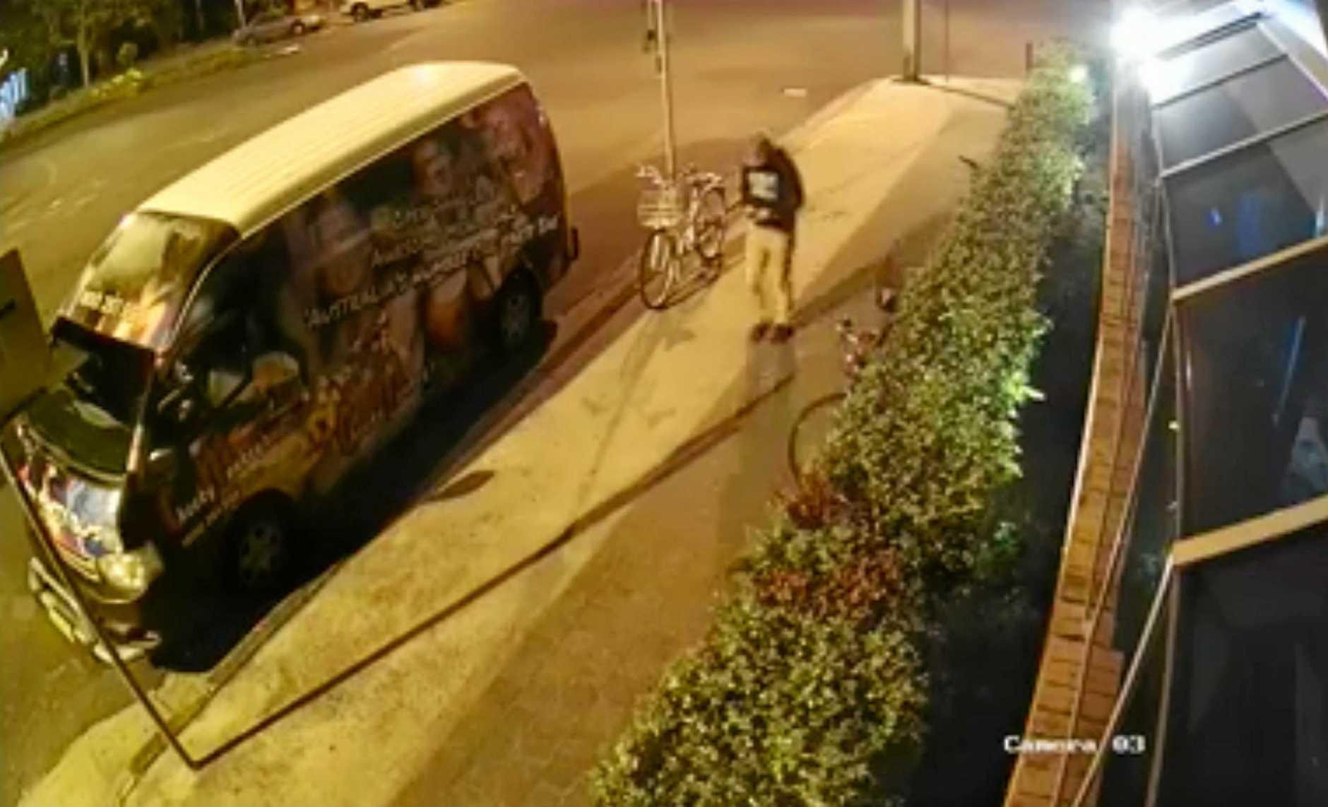 Last known siting of missing Belgian teen Theo Hayez outside Cheeky Monkeys in Byron Bay.