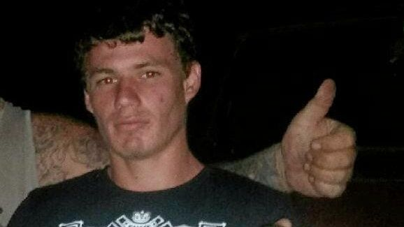 FREE: Kyle Robert Weiss has walked free after being involved in an armed attack on a Childers service station.