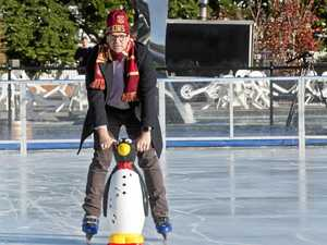 Garden City to Winter Wonderland: Ice skating rink opens