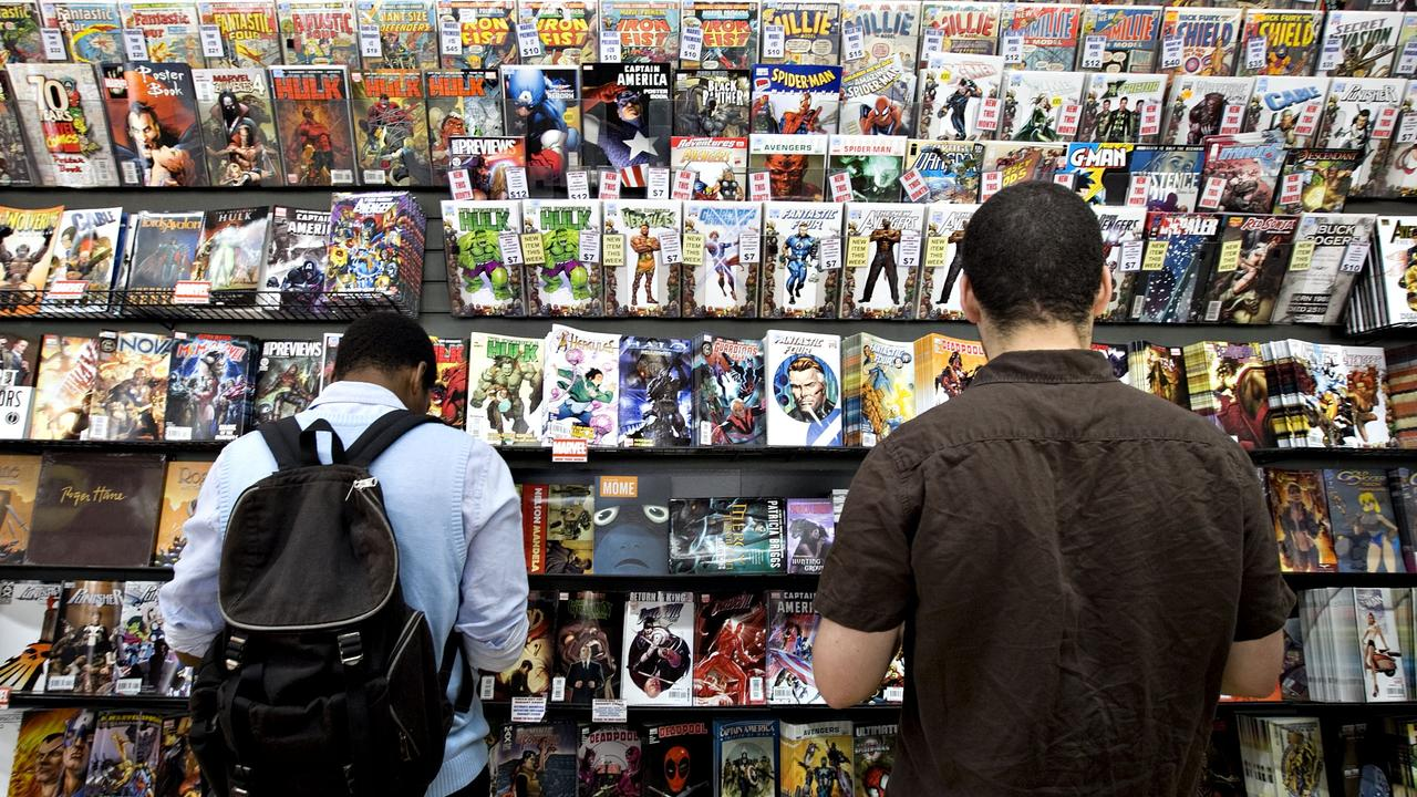 The plot allegedly used comic books to smuggle drugs. (Photo by Daniel Acker/Bloomberg via Getty Images)