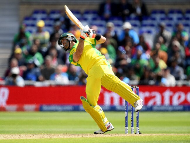 Glenn Maxwell looked in scarily good form.