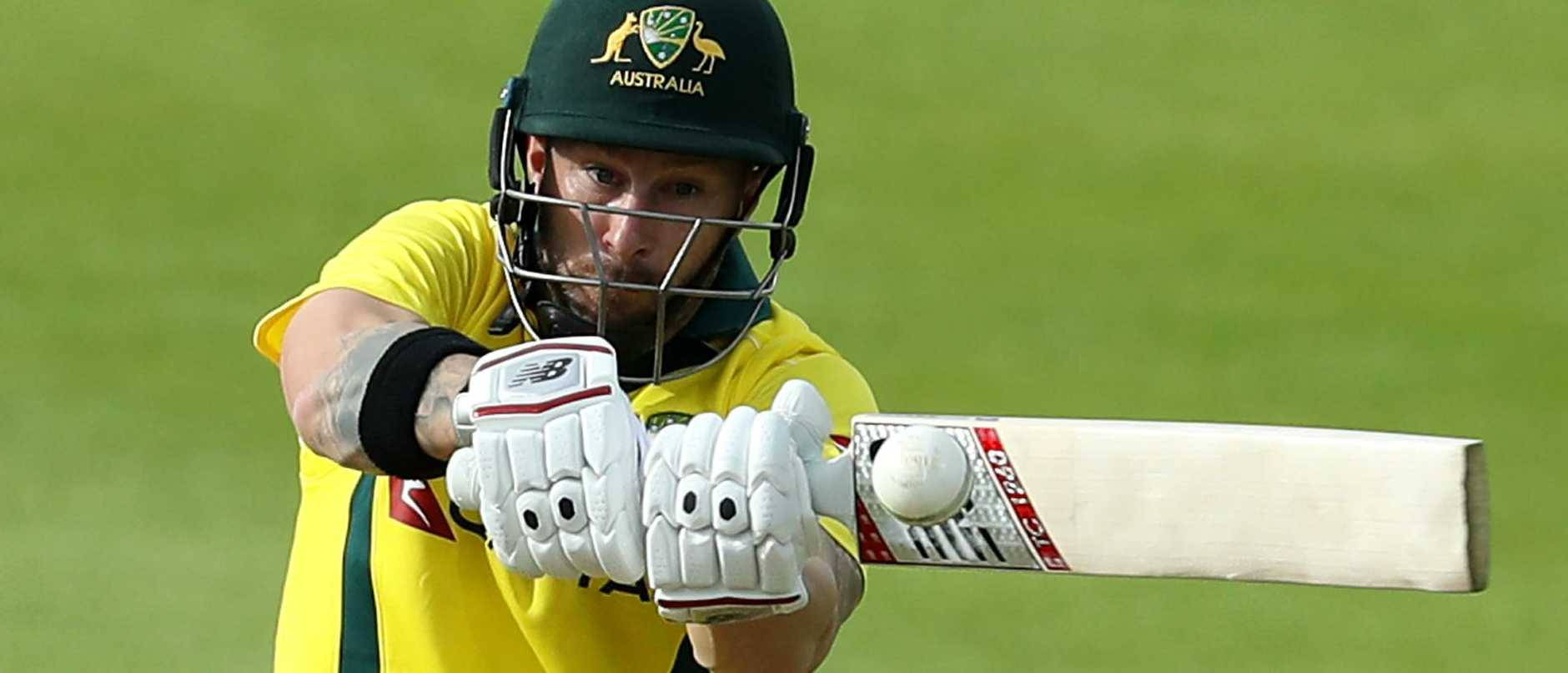 Matthew Wade has given selectors a timely reminder of his run-scoring ability. Picture: David Rogers/Getty Images