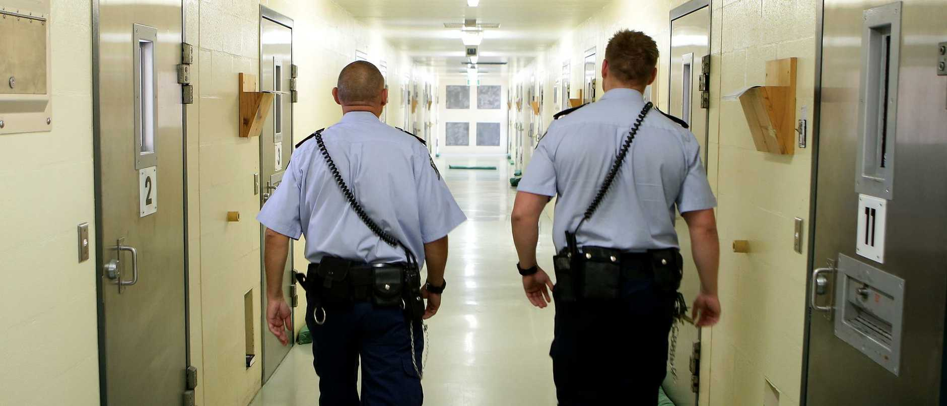 Several Queensland jails are in lockdown as staff walk off the job as part of a wage dispute.
