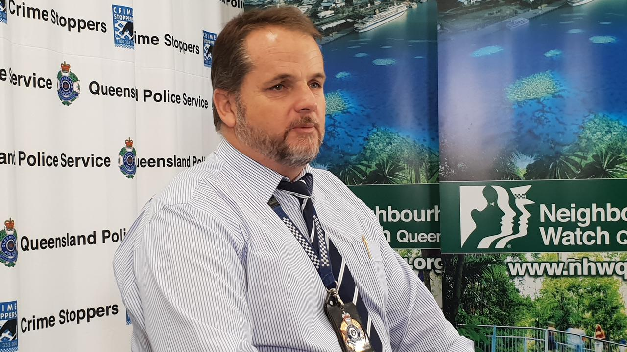 Crime Stoppers' Cairns volunteer area committee police representative Det Sen-Sgt Kevin Goan. PICTURE: Andrea Falvo