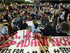 'We'll do it again': anti-Adani protesters