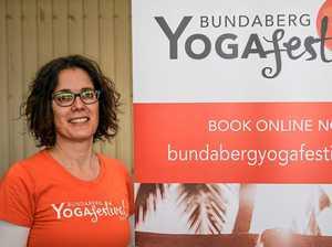 Bundy gets bendy: Yoga Festival a soaring success