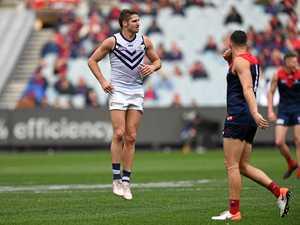 Dockers lose Jesse Hogan to injury in shock loss to Demons