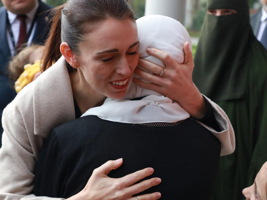 She also made headlines for her empathetic and effective response to the Christchurch mass shooting. Picture: Phil Walter/Getty Images