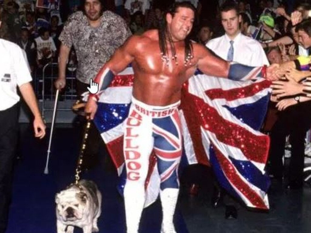The British Bulldog was one of the biggest stars of the 1990s.