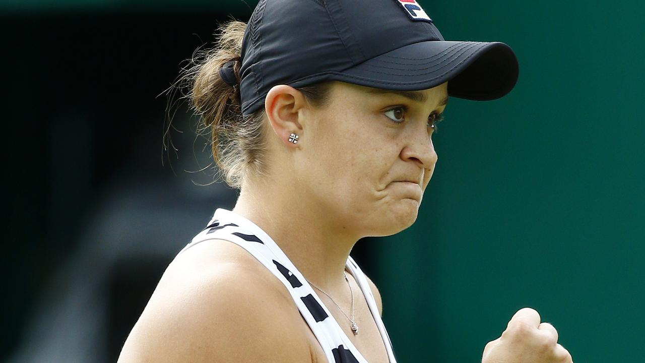 Ash Barty lost only seven games against Venus Williams.