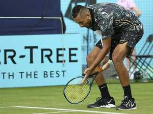 Kyrgios slammed by new tennis king