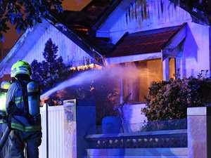 Man missing after Kingsford house fire