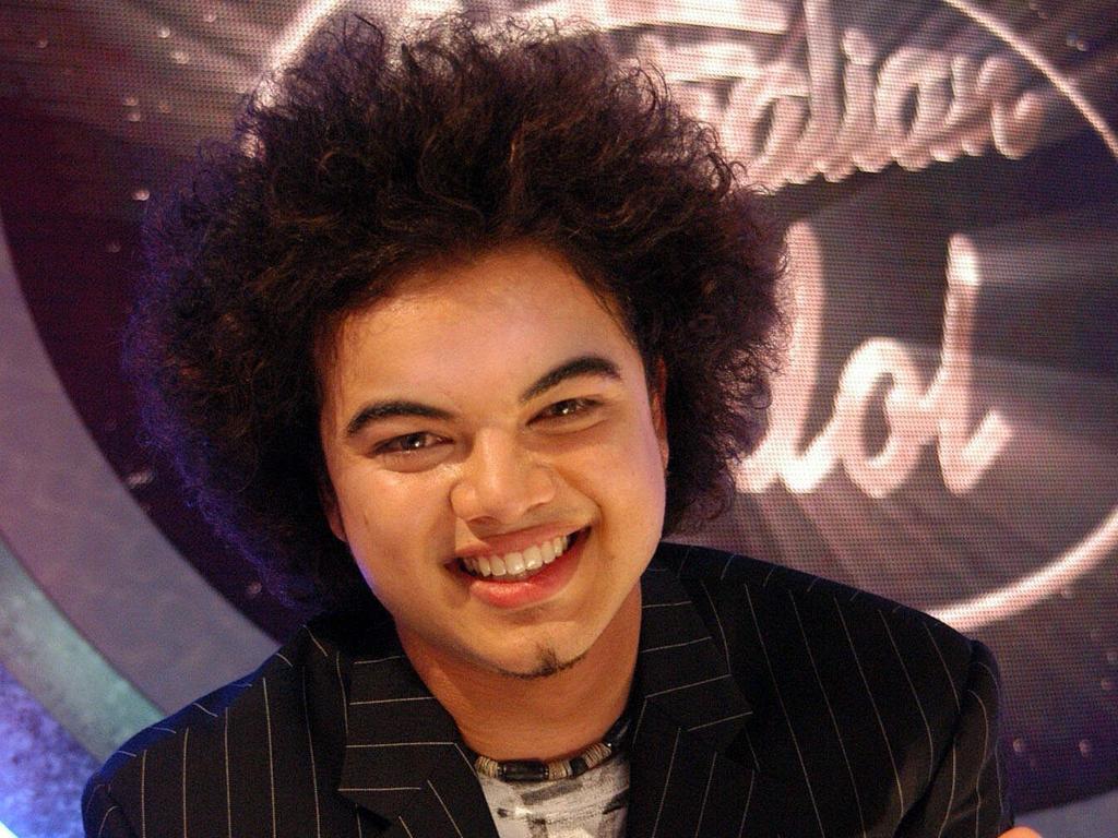 Singer Guy Sebastian, 2003 Australian Idol winner.