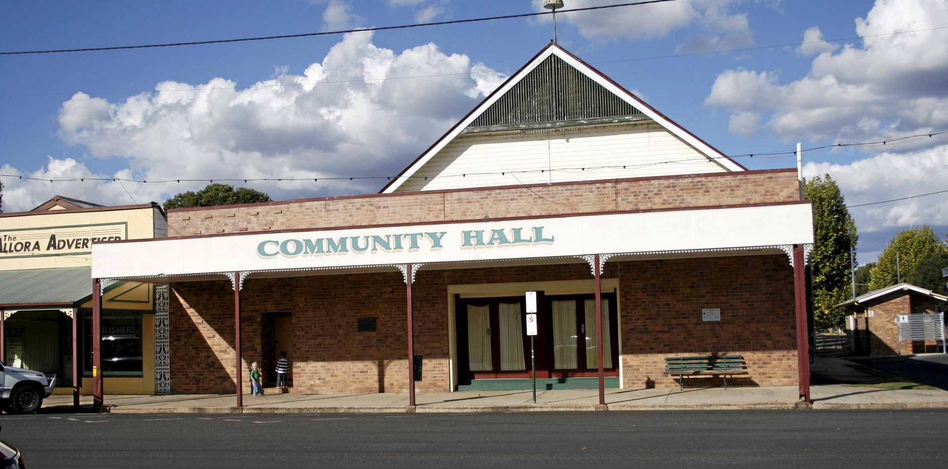 Allora's Community Hall will host the Pioneer's Dinner.