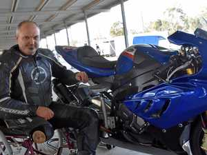 Man's brush with death drives racing passion