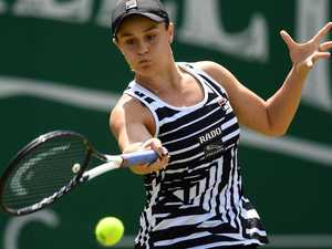 Barty braves injury amid historic hopes