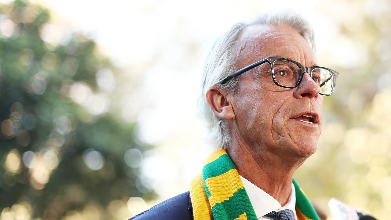 FFA CEO David Gallop signed off on the guidelines in his role of chair of the Coalition of Major Professional and Participation Sports. Picture: Mark Metcalfe/Getty Images