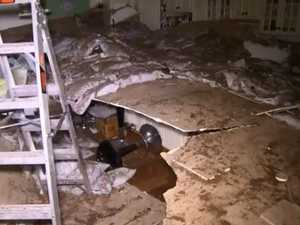 Teen's miraculous escape from building collapse