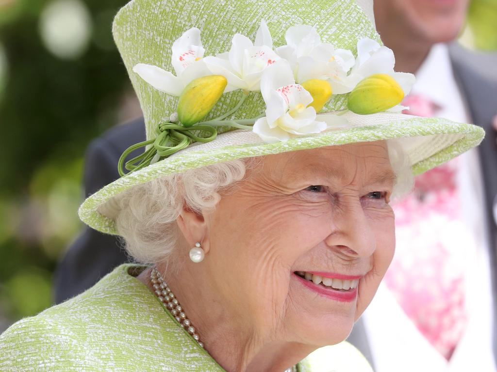 Queen Elizabeth II was the vision of summer as she attended day five of Royal Ascot. Picture: Chris Jackson/Getty Images