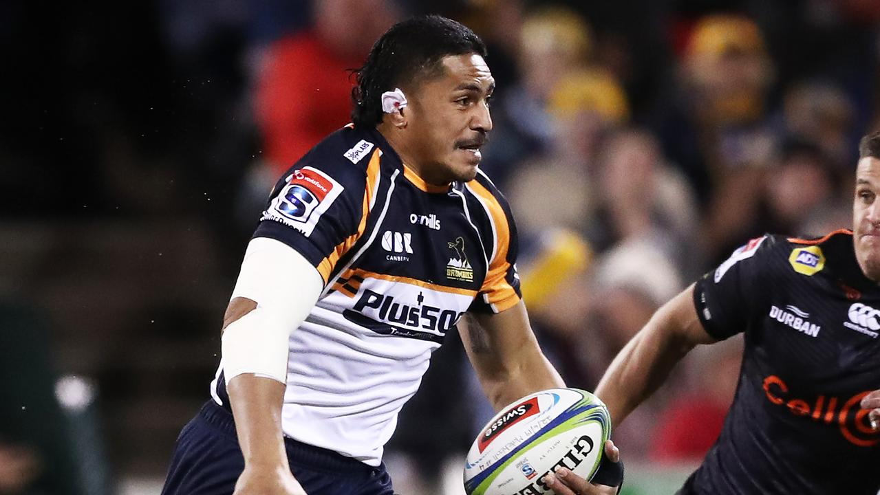 Peter Samu will be right for the 2019 Super Rugby final if the Brumbies get that far. Picture: Getty Images