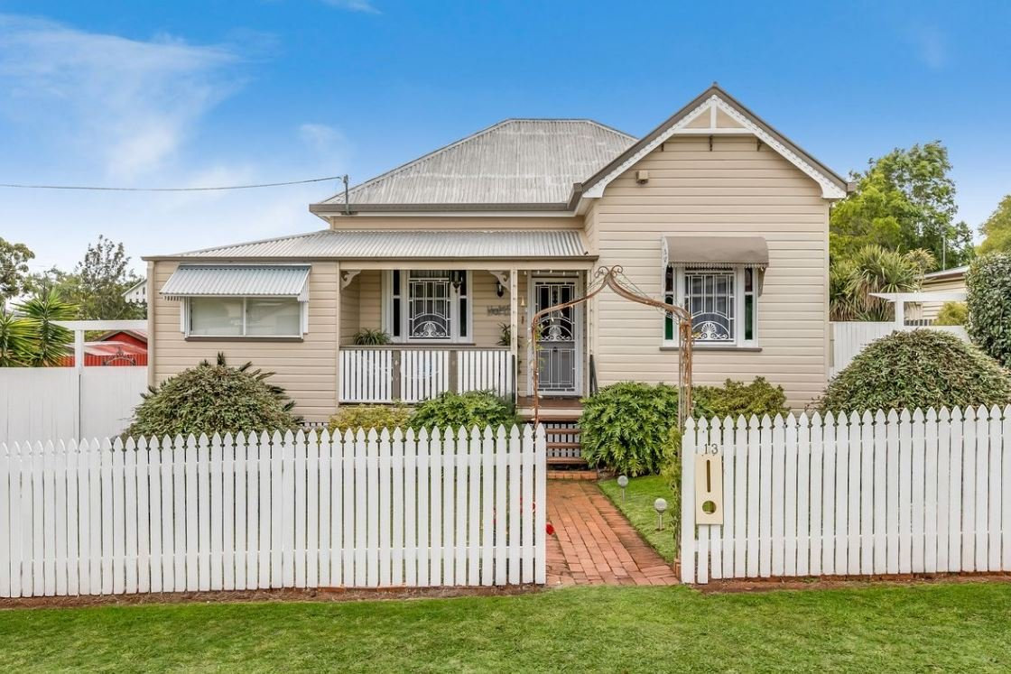 13 Belgium St, South Toowoomba, is for sale.