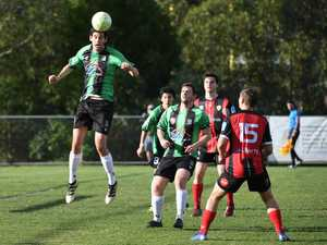 Qld Premier League soccer match between Ipswich