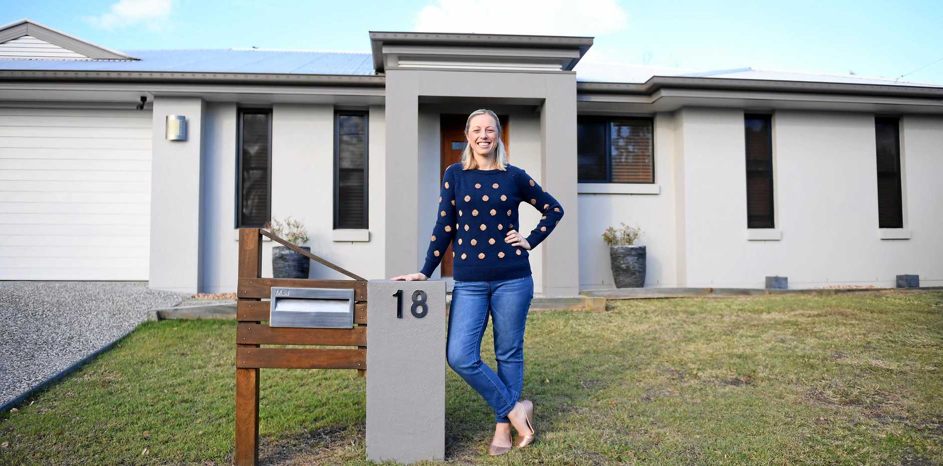 ON THE MARKET: Brooke Bowers is selling her house.