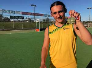 Determined Mackay teen brings back gold for Australia