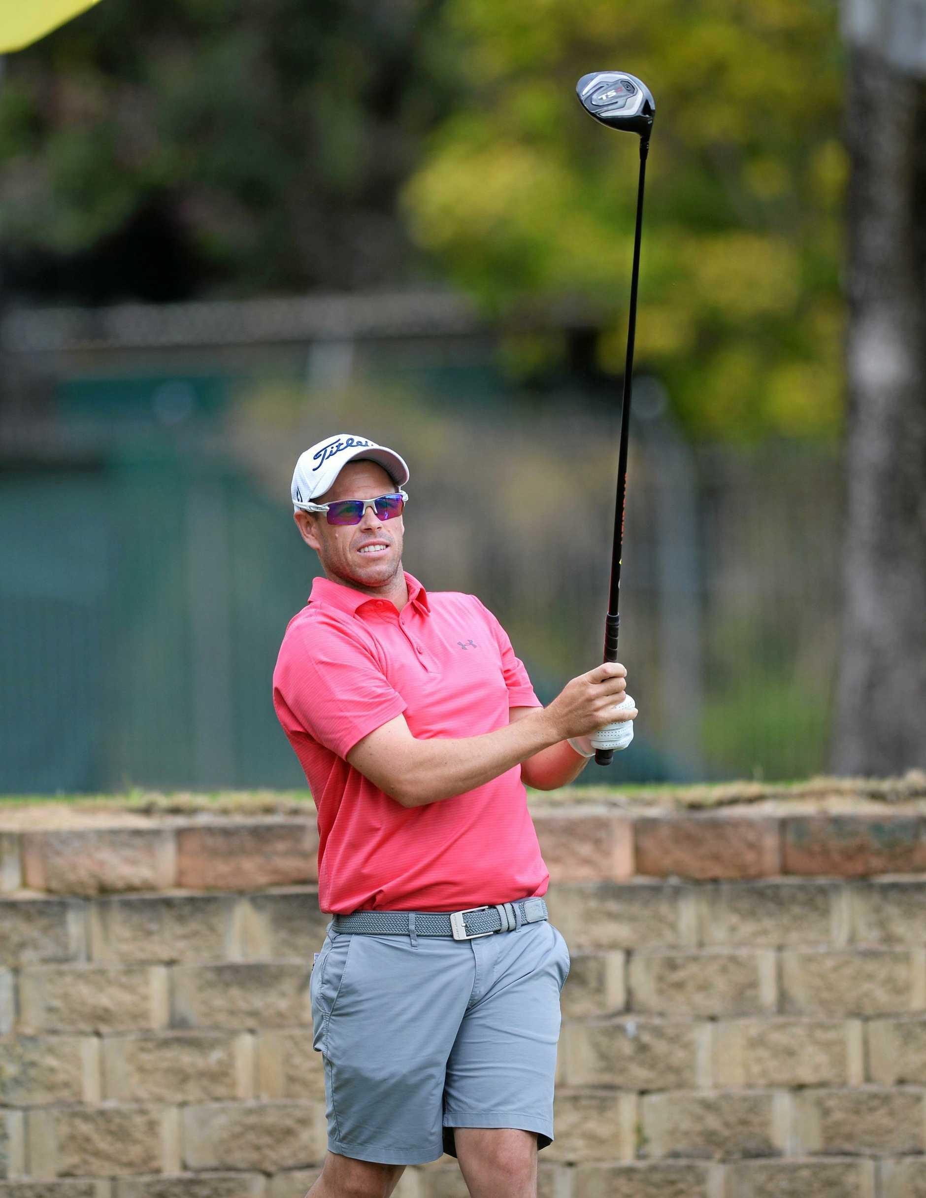 Golf: Andrew Martin.