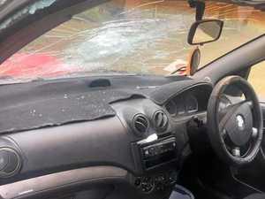 Police urge vigilance after two cars vandalised