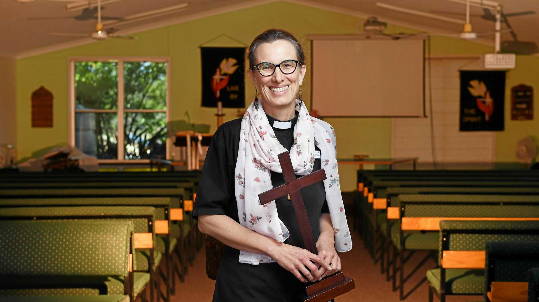 CAREER SHIFT: Reverend Bronwyn Pagram is the new priest in charge of the Anglican Parish of Goodna.