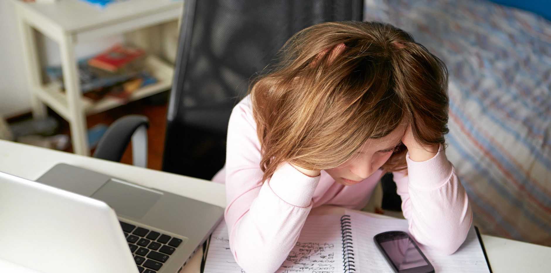 Cyberbullying is a growing problem.