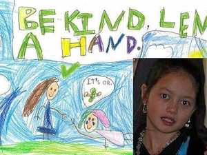 8yo Gympie girl awarded for compelling anti-bullying image