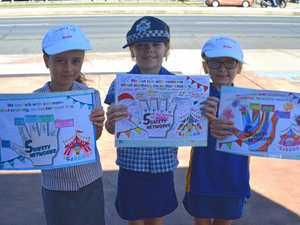 Safety Circus colouring in contest winners revealed