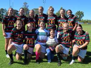River Rats girls rugby 7s team wrap up debut season
