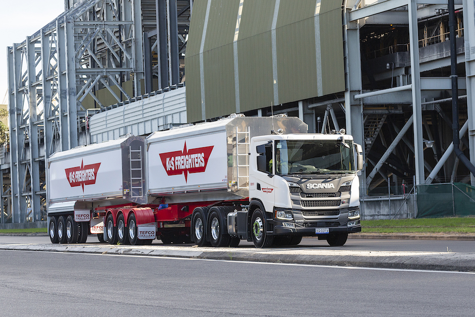The trucks will run around-the-clock for six days per week, across two 12-hour shifts, so reliable uptime was a key decision-making factor in the K&S Freighters' specification process.