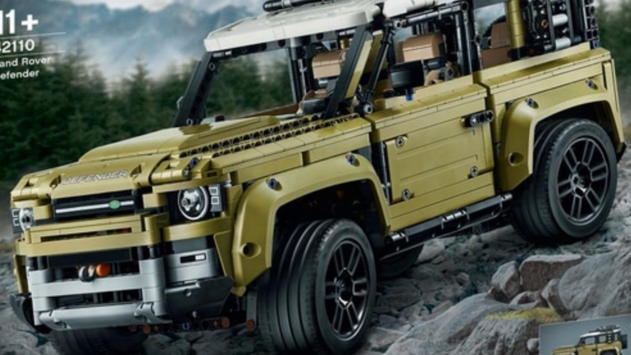 Has Lego given away the look of the new Land Rover Defender.
