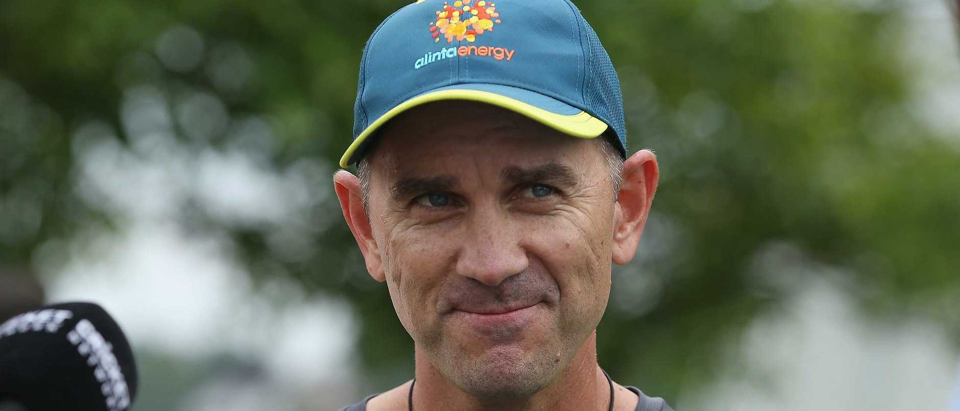 Justin Langer has dismissed criticism of his team.