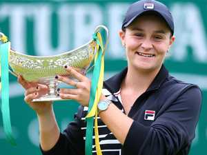 Barty celebrates No 1 ranking in Aussie style