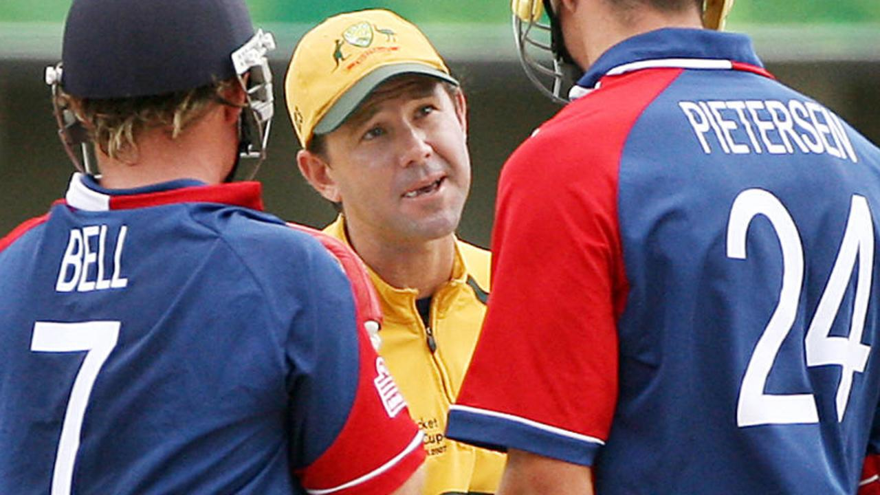 A bad tempered clash once more went Australia's way in Antigua in 2007.