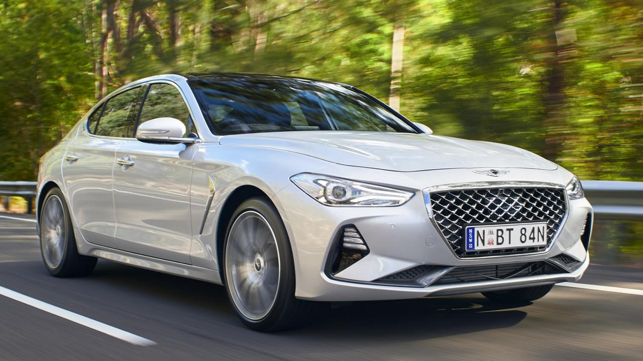 The G70 delivers more power than similarly-priced German rivals. Picture: Supplied.