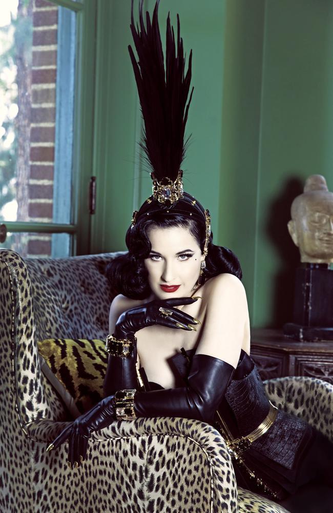 Queen of burlesque Dita Von Teese will premiere her new show GLAMONATRIX in Australia in November