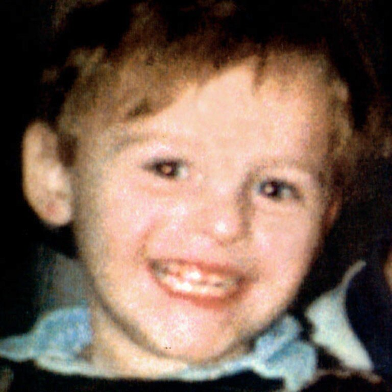 James Bulger was kidnapped and murdered in Liverpool in 1993. Picture: PA Press