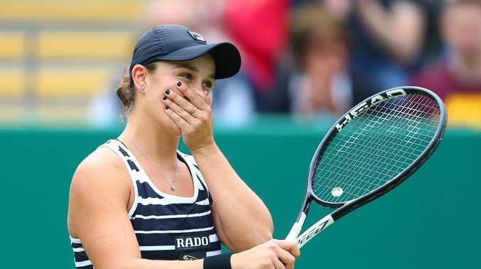 World Number One Barty wins hearts around the globe