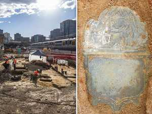 Mystery: Metro workers unearth 161-year-old grave