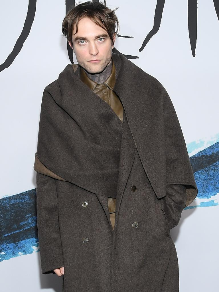 Pattinson at the Dior Homme Menswear show at Paris Fashion Week. Picture: Pascal Le Segretain/Getty Images