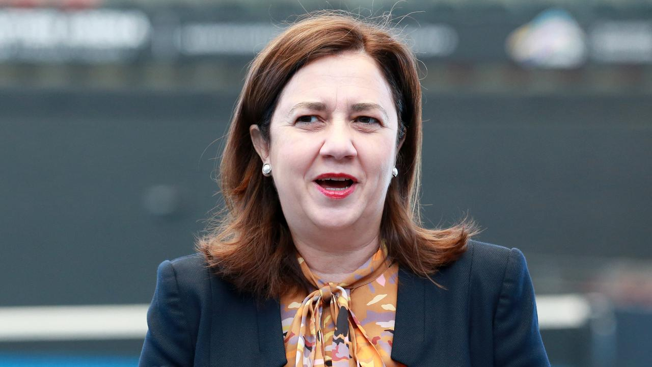 Premier Annastacia Palaszczuk is the only person who can fortify Labor's electoral hopes ahead of the next state election. Picture: Sarah Marshall/AAP