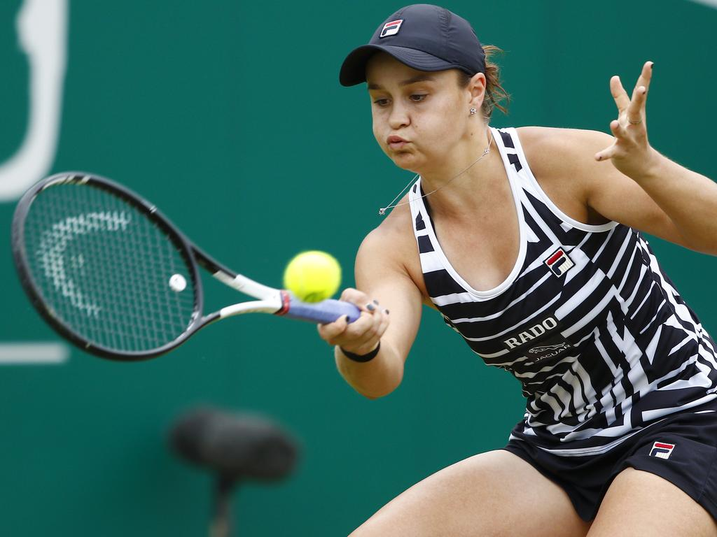 Ash Barty took the crown in Edgbaston.