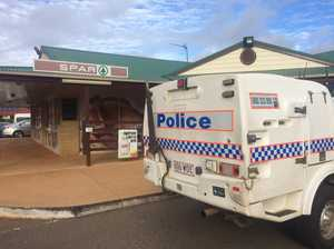 Two juveniles charged over Middle Ridge armed robbery